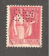 Perforé/perfin/lochung France No 283 SM Sté Métallurgique Senelle - Frankreich