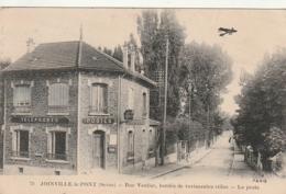 ***  94  *** JOINVILLE LE PONT  Rue Vautier Bordée De Ravissantes Villas La Poste - écrite TTBE - Joinville Le Pont
