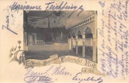 EIN ABENO  AM BOSPORUS~LIEDERTAFEL RIED  1902 PHOTO POSTCARD 42202 - Sonstige