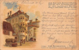 (TIROL)  DAS BATZENHAUSL In BOZEN POSTCARD 42204 - Bolzano