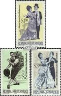 Österreich 1338-1340 (kompl.Ausg.) Gestempelt 1970 Berühmte Operetten - 1945-.... 2. Republik