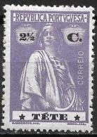 Tete – 1914 Ceres Type 2 1/2 Centavos - Tete