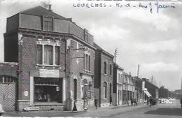 Lourches Près Lille Rue J Jaurès Pompe à Essence - Francia