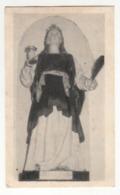 Santino Antico Santa Lucia Vergine E Martire Da Morigerati - Salerno - Religion & Esotérisme