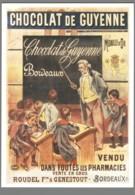 CPM Publicité - Chocolat De Guyenne - Reclame