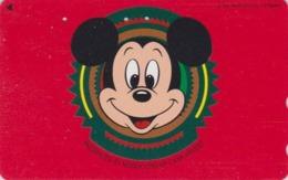 Télécarte Japon / 110-139538 - DISNEY - MICKEY MOUSE  ** NISSEKI ** - Japan Phonecard Telefonkarte - Disney