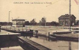 Goeulzin Près Lille  écluses éraflure Au Dos - Otros Municipios