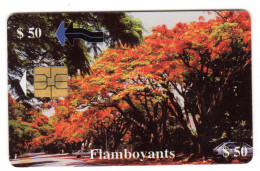 ZIMBABWE REF MV CARDS ZIM-26 50$ FLAMBOYANTS - Simbabwe