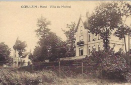 Goeulzin Près Lille Villa Du Molinel  Légères Traces De Colle Au Dos - Francia