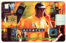 ZIMBABWE REF MV CARDS ZIM-32 50$ ALCATEL 1 - Simbabwe