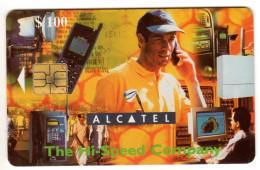 ZIMBABWE REF MV CARDS ZIM-33 100$ ALCATEL - Simbabwe