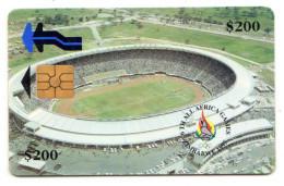 ZIMBABWE REF MV CARDS ZIM-06 200$ STADIUM - Simbabwe