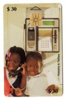 ZIMBABWE REF MV CARDS ZIM-14 30$ NATASHA & TADIVA 2 - Simbabwe
