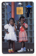 ZIMBABWE REF MV CARDS ZIM-20 30$ NATASHA & TADIVA 3 10/99 - Simbabwe