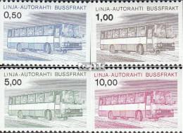 Finnland AP14-AP17 (kompl.Ausg.) Postfrisch 1981 Autopaketmarken - Finland
