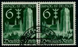 3. REICH 1939 Nr 714 Gestempelt WAAGR PAAR X85D93A - Duitsland