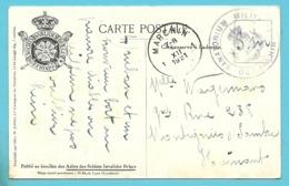 Kaart Stempel MARCHIN Met Stempel SANATORIUM MILITAIRE DE MARCHIN - Postmark Collection