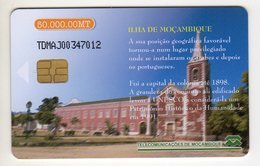 MOZAMBIQUE REF MV CARDS MZB-09 50 000MT CHURCH - Moçambique