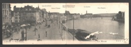 Liège - Panorama - La Meuse - Diptyque / Tweeluik - 1905 - Liege