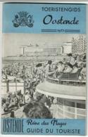 1953 - Toeristengids OOSTENDE / OSTENDE Reine Des Plages Gui Du Touriste - 64 Pages + Plan + Liste Hôtels - 7 Scans - Cultuur