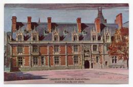 BLOIS  --illustrateur  Paul  Rochas---Chateau De BLOIS   éd  Chocolat Poulain - Blois