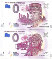 RARE : SLOVAKIA , 0 EURO SOUVENIR - LOT STEPANIK 2019 - UNC - Slowakije