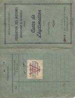 Carte De Légitimation Fédération Des Insoumis Metz - Unclassified