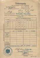 Bescheinigung 1941 Militaire  Lothringen Metz - Unclassified
