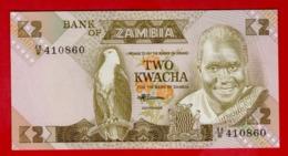 ZAMBIA 2 KWACHA ND(1980-1988) P-24c UNC - NEUF - Zambia