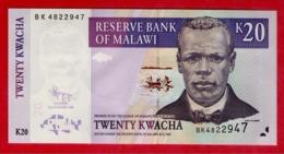 Malawi 20 KWACHA Pick 52e (2009) UNC - Malawi