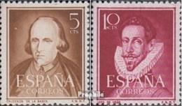 Spanien 994-995 (kompl.Ausg.) Postfrisch 1951 Schriftsteller - 1931-Heute: 2. Rep. - ... Juan Carlos I