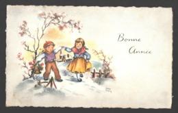 Luce André - Bonne Année - Mignonette 11,5 X 7 Cm - Ilustradores & Fotógrafos
