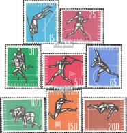 Jugoslawien Mi.-Nr.: 1016-1023 (kompl.Ausg.) Postfrisch 1962 Leichtathletik - 1945-1992 Sozialistische Föderative Republik Jugoslawien