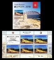 Malta 2018 Mih. 2006 Europa-Cept. Bridges (booklet) MNH ** - Malta