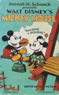 TC  NEUVE Japon  / 110-191460 - DISNEY - Série MOVIE POSTER COLLECTION A4 - MICKEY & MINNIE Japan MINT Phonecard - Disney