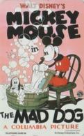 TC NEUVE Japon  / 110-192372 - DISNEY - Série MOVIE POSTER COLLECTION A5 - MICKEY & MAD DOG Japan MINT Phonecard - Disney