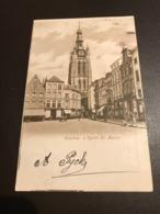Kortrijk - Courtrai - Eglise St-Martin - St-Maartenskerk - Gelopen 1901 - Kortrijk
