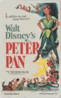 TC NEUVE Japon  / 110-191461 - DISNEY - Série MOVIE POSTER COLLECTION F4 - PETER PAN - Japan MINT Pc / Escrime Fencing - Disney