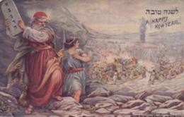 Jewish New Years , Moses , 1914 - Judaisme