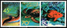 Djibouti 1977 Sea Life Unmounted Mint. - Djibouti (1977-...)