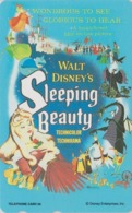 TC Japon  / 110-193371 - DISNEY - Série MOVIE POSTER COLLECTION F6 - SLEEPING BEAUTY ** ONE PUNCH ** - Japan Phonecard - Disney
