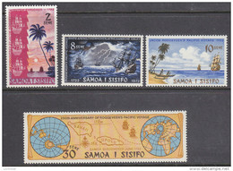 SAMOA, 1972 ROGGEVEEN 4  MNH - Samoa