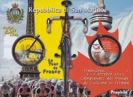 San Marino Block33 (kompl.Ausg.) Postfrisch 2003 100JahreTour De France - Neufs