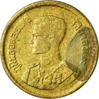 Monnaie, Thaïlande, Rama IX, 25 Satang = 1/4 Baht, 1957, SUP, Aluminum-Bronze - Thaïlande