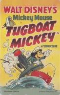 TC NEUVE Japon / 110-207844 - DISNEY - MOVIE POSTER COLLECTION M4 - * TUGBOAT MICKEY * Japan MINT Phonecard - Disney