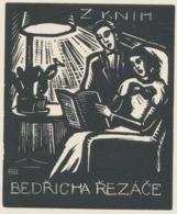 Ex Libris Bedřicha Rezace - Bochořákova-Ditrichová 1945 - Ex-libris