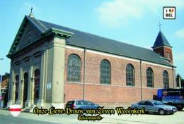 Set 6 Cartes Postales,églises, Churches Of Europe, Belgium, Schoonaarde, Onze Lieve Vrouw Van Zeven Weeënkerk - Kerken En Kathedralen