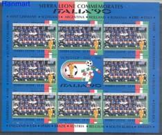 Sierra Leone 1990 Mi Ark 1448 MNH ( LZS5 SRRark1448 ) - 1990 – Italien