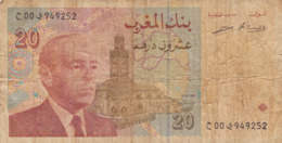 Maroc - Billet De 20 Dirhams - Hassan II - 1996 - Marocco