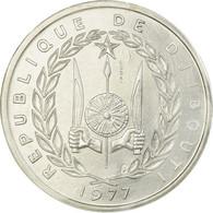 Monnaie, Djibouti, 5 Francs, 1977, Paris, ESSAI, FDC, Aluminium, KM:E3 - Djibouti
